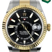 Rolex Sky-Dweller Gold/Steel 42mm Black United States of America, New York, Smithtown