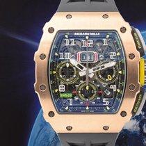 Richard Mille Růžové zlato Automatika použité RM 011