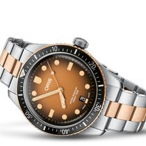 Oris Bronze Automatic Brown No numerals 40mm new Divers Sixty Five
