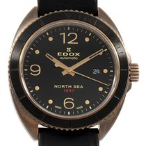 Edox Automatic Black 44mm pre-owned