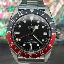 Tudor Black Bay GMT Steel 41mm Black No numerals United States of America, New York, Troy