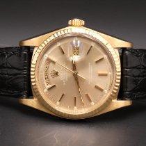 Rolex Day-Date 36 Oro giallo 36mm Marrone Senza numeri Italia, Aversa