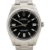 Rolex Oyster Perpetual Acero 41mm Negro
