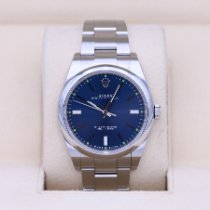 Rolex Oyster Perpetual 39 Steel 39mm Blue No numerals United States of America, Tennesse, Nashville