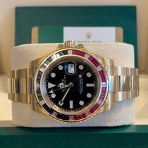 Rolex GMT-Master II Or jaune 40mm Noir Sans chiffres France, Paris