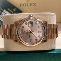 Rolex Day-Date 36 Or rose 36mm Blanc France, Paris