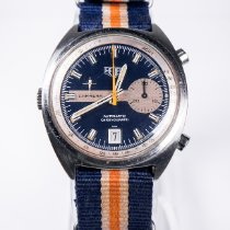 Heuer Steel 39mm Automatic 1553 pre-owned United States of America, Tennesse, Memphis