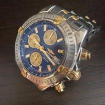 Breitling Chronomat Evolution Zlato/Ocel 44mm Modrá Bez čísel