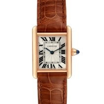 Cartier Tank Louis Cartier Rose gold 29.5mm Silver Roman numerals United States of America, Georgia, Atlanta