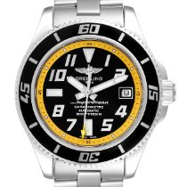 Breitling Superocean 42 Steel 42mm Yellow Arabic numerals United States of America, Georgia, Atlanta