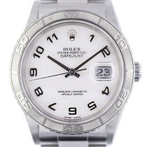 Rolex Datejust Turn-O-Graph Steel 36mm Mother of pearl Arabic numerals