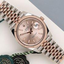 Rolex Datejust II Gold/Steel 41mm Pink