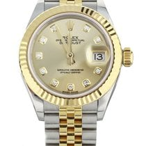 Rolex Lady-Datejust Gold/Steel 28mm Champagne United States of America, Illinois, BUFFALO GROVE