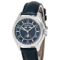 Vacheron Constantin Fiftysix Steel 40mm Blue Arabic numerals United States of America, New York, Hartsdale