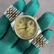 Rolex Datejust Gold/Steel 36mm Champagne No numerals United States of America, California, San Francisco