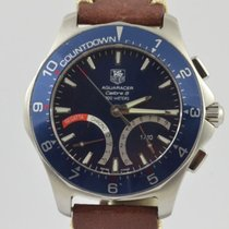 TAG Heuer Aquaracer pre-owned 42mm Leather