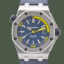 Audemars Piguet Royal Oak Offshore Diver новые 2020 Автоподзавод Часы с оригинальными документами и коробкой 15710ST.OO.A027CA.01