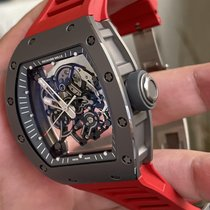 Richard Mille 50mm Remontage manuel RM055 TI occasion France, marseille