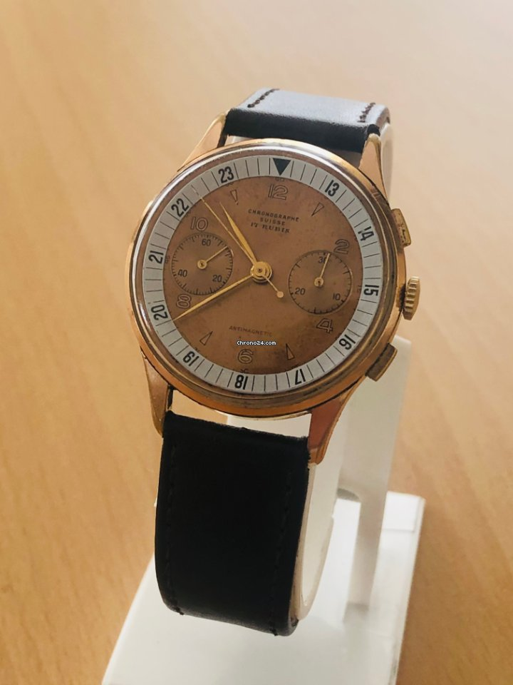 Chronographe Suisse Cie 530y-93-2 1930 二手