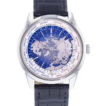 Jaeger-LeCoultre Geophysic Universal Time Acero 41.5mm Azul