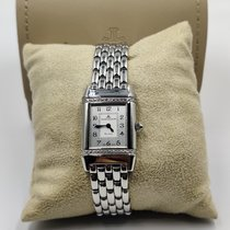 Jaeger-LeCoultre Reverso Lady Steel Silver Arabic numerals