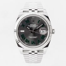 Rolex Datejust Steel 41mm Grey No numerals United Kingdom, Guildford,Surrey