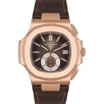 Patek Philippe Nautilus 5980R-001 Nu a fost purtat Aur roz 40.5mm Atomat