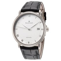 Blancpain White gold Automatic 37.4mm new Villeret Ultra-Slim