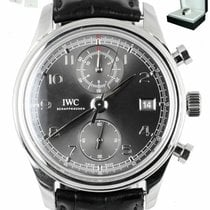 IWC Portuguese Chronograph Steel 42mm Grey Arabic numerals