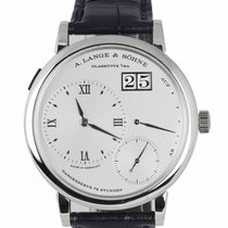 A. Lange & Söhne Grand Lange 1 Platinum 40.5mm Silver United States of America, New York, Smithtown