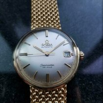 Omega Seamaster DeVille Yellow gold 34mm Gold No numerals United States of America, New York, Ny