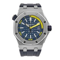 Audemars Piguet Royal Oak Offshore Diver Steel 42mm Blue No numerals United States of America, New York, New York