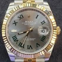 Rolex Datejust II Gold/Steel Green No numerals UAE, Dubai