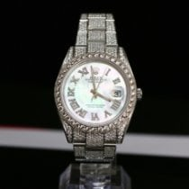 劳力士 Datejust II Datejust II 126300 steel Customized full diamond 未使用过 钢 41mm 自动上弦 中国, Shanghai