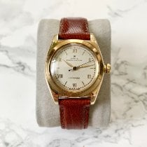 Rolex Yellow gold Automatic White Roman numerals 32mm pre-owned Bubble Back