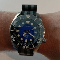 Seiko pre-owned Automatic 41mm Blue Sapphire crystal 20 ATM