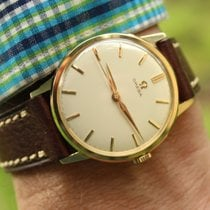Omega Ungetragen Gelbgold 35mm Handaufzug