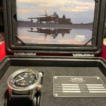 Oris Big Crown ProPilot Altimeter подержанные 47mm Черный Дата Ткань