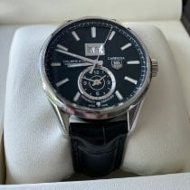 TAG Heuer Carrera Calibre 8 Steel 41mm Black No numerals United States of America, Florida, Clearwater