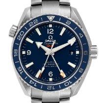 Omega Titanium Automatic Blue Arabic numerals 43.5mm pre-owned Seamaster Planet Ocean