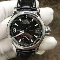 Jaeger-LeCoultre Master Compressor GMT pre-owned 41.5mm Black Date GMT Leather
