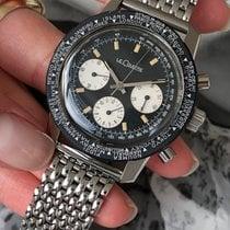 Jaeger-LeCoultre Deep Sea Chronograph pre-owned Black Chronograph Steel