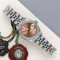 Rolex Lady-Datejust Gold/Steel 26mm Pink