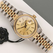 Rolex Datejust 16013 Zeer goed Goud/Staal 36mm Automatisch Nederland, Maastricht