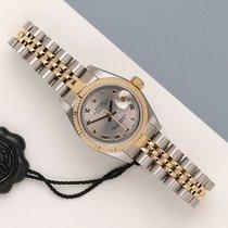 Rolex Lady-Datejust Guld/Stål 26mm Sølv