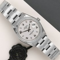 Rolex Oyster Perpetual Date Staal 34mm Wit Nederland, Maastricht