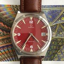 Omega Genève Сталь 35mm Красный