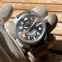 IWC Pilot Steel 44mm Brown Arabic numerals United Kingdom, HAYES