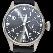 IWC Big Pilot White gold 46mm Grey Arabic numerals
