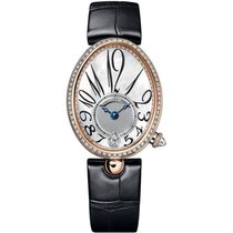 Breguet Reine de Naples Rose gold 36.5mm Mother of pearl Arabic numerals United States of America, New York, New York City